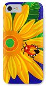 Daisy And Shieldbug IPhone Case