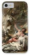 Death On The Pale Horse IPhone Case by Benjamin West