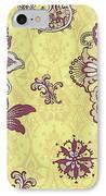 Deco Flower Yellow IPhone Case