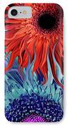 Deep Water Daisy Dance IPhone Case