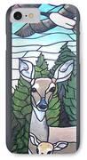 Deer Scene IPhone Case