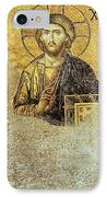Deesis Mosaic Hagia Sophia-christ Pantocrator-judgement Day IPhone Case