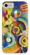 Delaunay: Hommage Bleriot IPhone Case