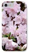 Delicate Pink Azaleas IPhone Case by Carol Groenen