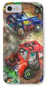 Demo Derby One IPhone Case by Jame Hayes
