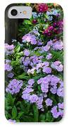 Dianthus Flower Bed IPhone Case by Corey Ford