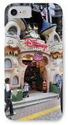 Disney Store Tokyo Japan IPhone Case by Andy Smy