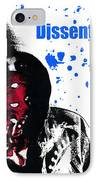 Dissent Is Patriotic IPhone Case by Jeffery Ball