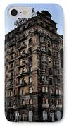 Divine Lorraine Hotel IPhone Case by Bill Cannon