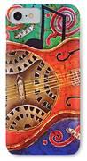 Dobro - Slide Guitar IPhone Case