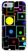 Domino Effect  IPhone Case by Will Borden