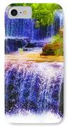 Double Waterfall IPhone Case by Bill Cannon