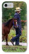 Down A Country Road IPhone Case by Linda Mishler