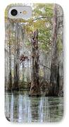 Down On The Bayou - Digital Painting IPhone Case by Carol Groenen