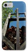 Down The Shaft Virginia City Nv IPhone Case by LeeAnn McLaneGoetz McLaneGoetzStudioLLCcom