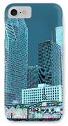Downtown Houston IPhone Case