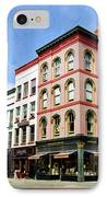 Downtown Ithaca Architecture  IPhone Case