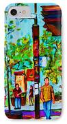 Downtowns Popping IPhone Case