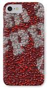 Dr. Pepper Bottle Cap Mosaic IPhone Case