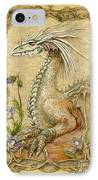 Dragon IPhone Case by Morgan Fitzsimons