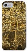 Dragon Pattern IPhone Case by Setsiri Silapasuwanchai