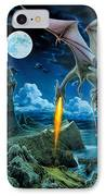 Dragon Spit IPhone Case by The Dragon Chronicles - Robin Ko