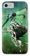 Dragonfly Art IPhone Case
