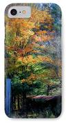 Dreamy Fall Scene IPhone Case by Teresa Mucha