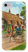 Driving A Jaunting Cart IPhone Case