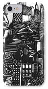 Drowning In Metropolis IPhone Case