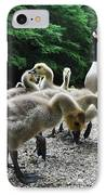 Ducklings IPhone Case by Bill Cannon