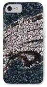 Eagles Bottle Cap Mosaic IPhone Case