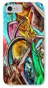 East Side Gallery IPhone Case by Joan Carroll