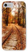 Eastbound IPhone Case by Sandy Keeton