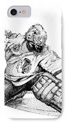 Ed Belfour IPhone Case by Steve Benton