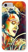 Edith Piaf- La Mome IPhone Case by Vel Verrept