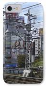 Electric Train Society -- Kansai Region Japan IPhone Case