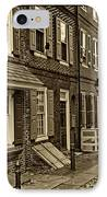 Elfreths Alley IPhone Case by Jack Paolini