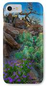Elk Mountain Flowers IPhone Case by Inge Johnsson