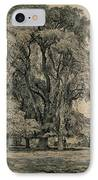 Elm Trees In Old Hall Park IPhone Case by John Constable