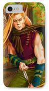 Elven Hunter IPhone Case