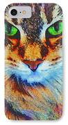Emerald Gaze IPhone Case