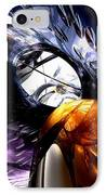 Emotional Scars Abstract IPhone Case by Alexander Butler
