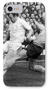 England: Soccer Match, 1972 IPhone Case by Granger