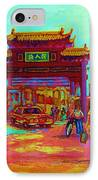 Entrance To Chinatown IPhone Case