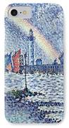 Entrance To The Port Of Honfleur IPhone Case