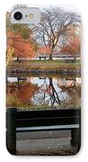 Esplanade View IPhone Case by Susan Cole Kelly