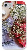 Etude With A Picture And Colors IPhone Case by Yury Bashkin
