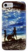 Evening At The Beach IPhone Case