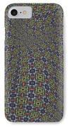 Fabric Design 20 IPhone Case by Karen Musick